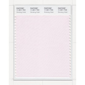 Pantone 11-2511 TCX Swatch Card Shrinking Violet
