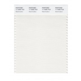 Pantone 11-4300 TCX Swatch Card Marshmallow