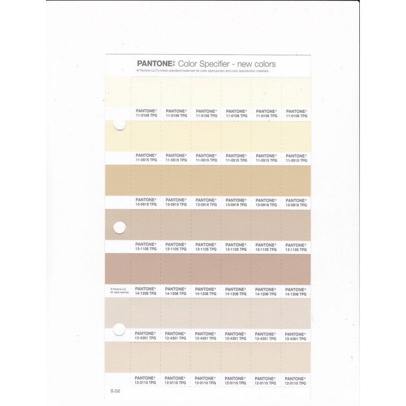 PANTONE 13 1105 TPG Brown Rice Replacement Page Fashion Home Interiors