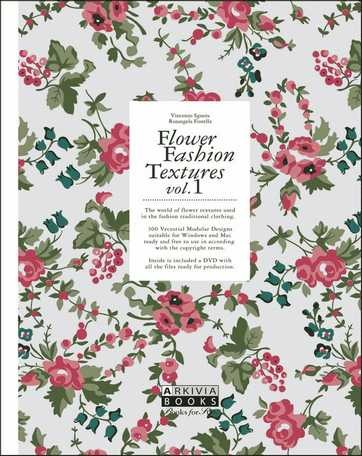 (Arkivia) FLOWER FASHION TEXTURES VOL.1 Book (VINCENZO SGUERA)