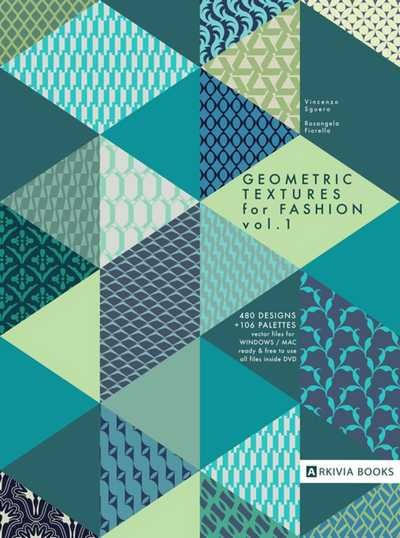 (Arkivia) GEOMETRIC TEXTURES FOR FASHION VOL.1 Book (VINCENZO SGUERA)