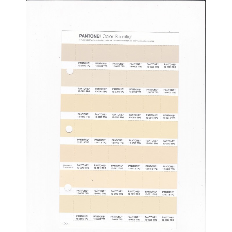 PANTONE 12 5202 TPG Turtledove Replacement Page Fashion Home Interiors