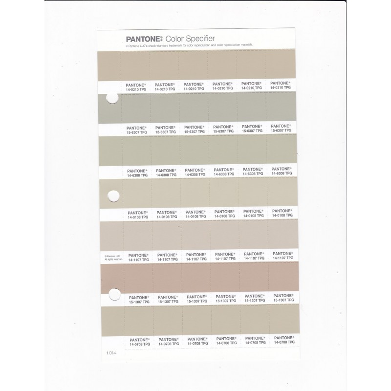 PANTONE 14 0708 TPG Cement Replacement Page Fashion Home Interiors
