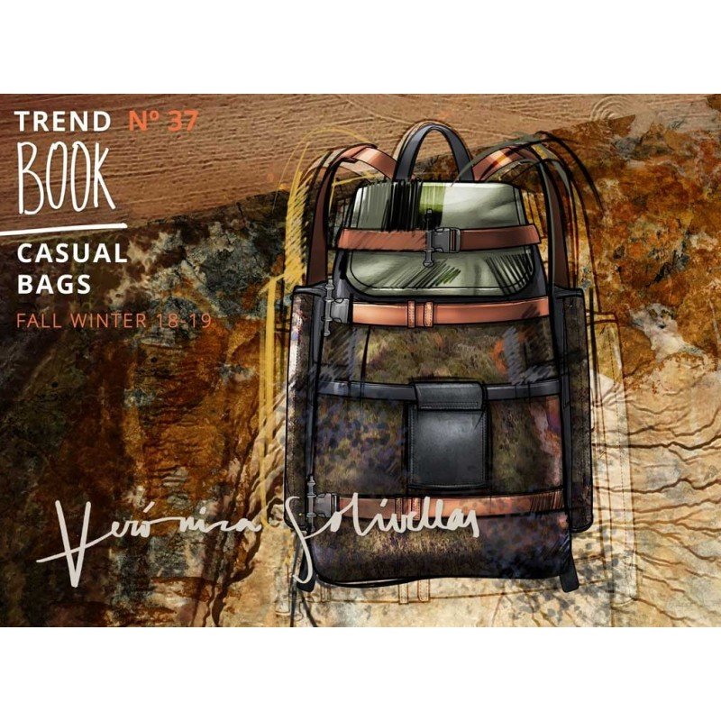 Veronica Solivellas Mens & Casual Bags Trend Book AW 18-19