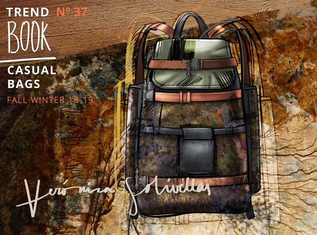 Veronica Solivellas (Men) Casual Bags Trend Book A/W & S/S