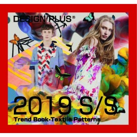 Design Plus Textile Pattarns Trend Book ss/19