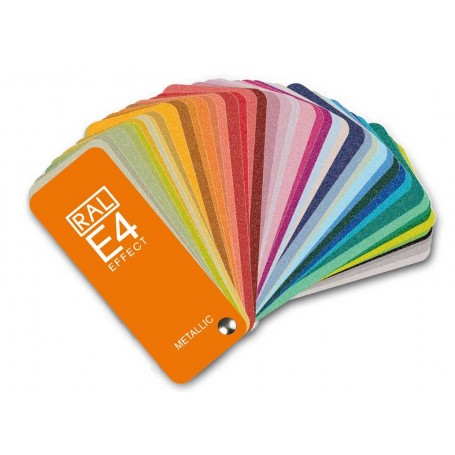 RAL E4 Colour Fan Deck 70 RAL EFFECT Metallic Colours
