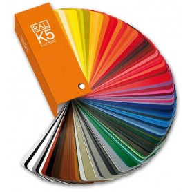RAL K5 Semi Matte Colour Chart Classic (213) Shade Card [2018 Edition]