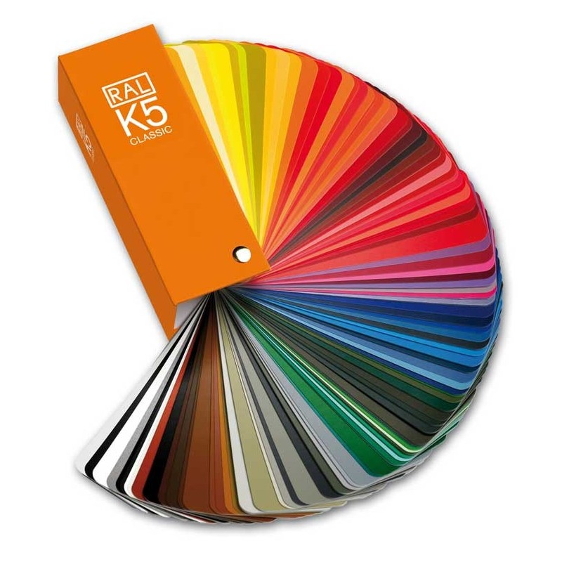 RAL K5 Colour Fan Deck + 213 RAL CLASSIC Colours (Semi-matte)