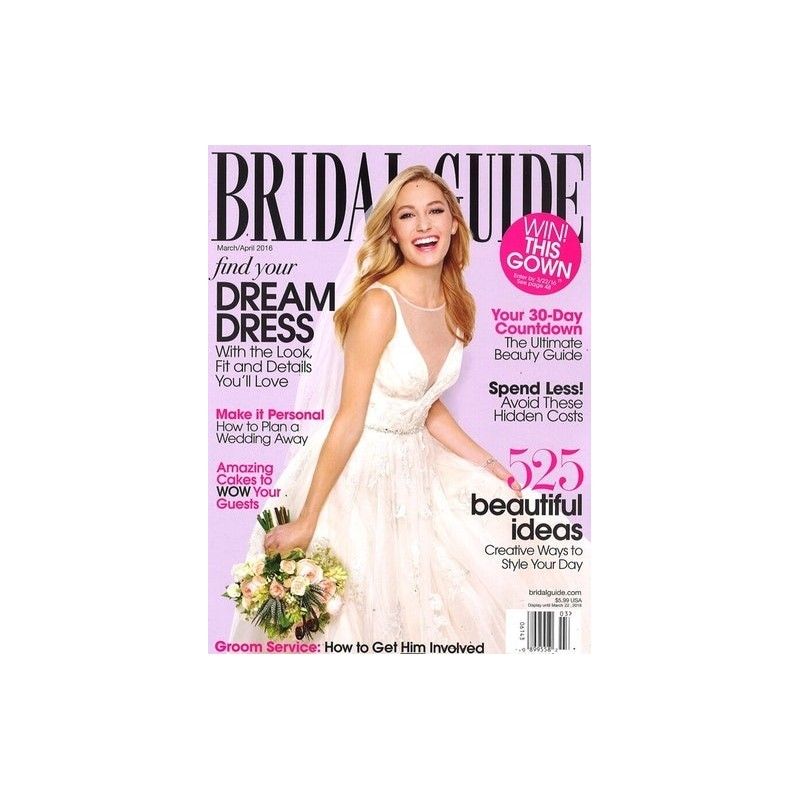 Wedding Magazine Subscriptions: Bridal Guide (USA) Magazine Subscription