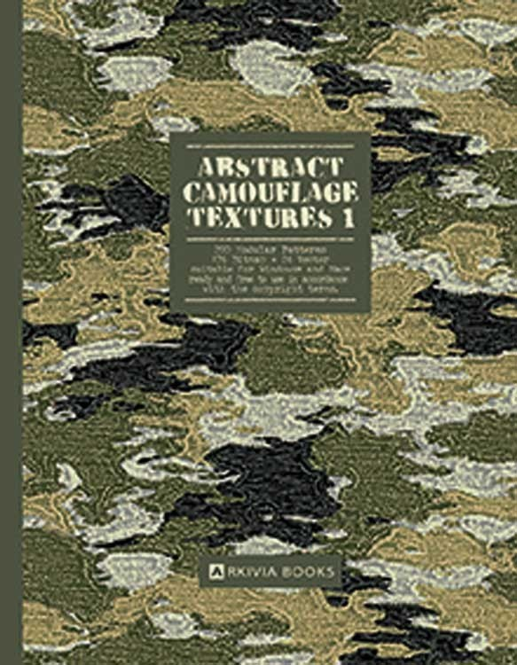 Abstract Camouflage Textures Vol. 1 Incd DVD (Arkivia Books)