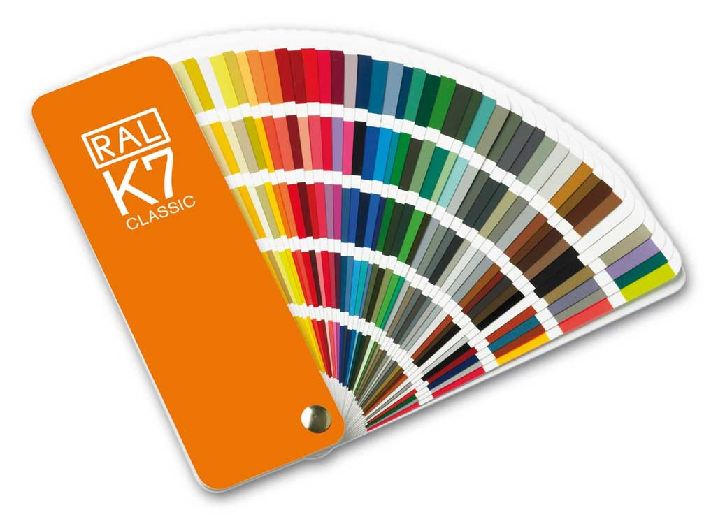 RAL K7 Colour Shade Chart Fan Deck 213 RAL CLASSIC Cards [2019 Edition]