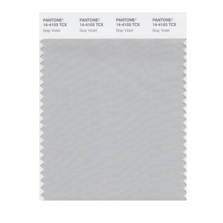 Pantone 14-4103 TCX Swatch Card Gray Violet