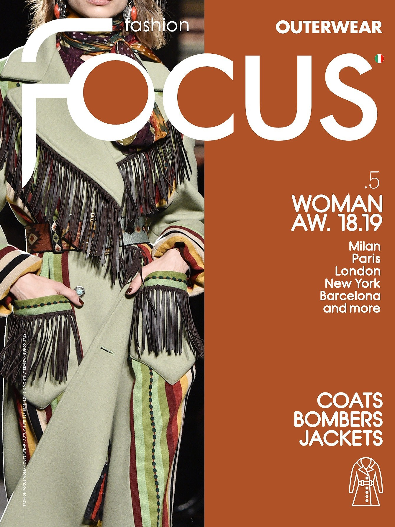 Fashion Focus (Woman) Outerwear Magazine Subscription A/W & S/S