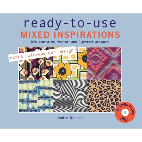 Ready to use MIXED INSPIRATIONS, incl. DVD