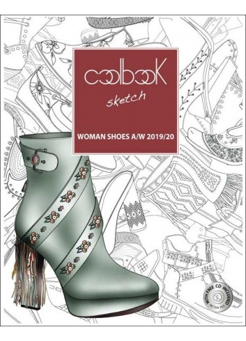 Coolbook Sketch Woman Shoes Trendbook A/W & S/S