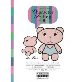 Character Styling Vol. 2 incl. CD-Rom [Arkivia Books]