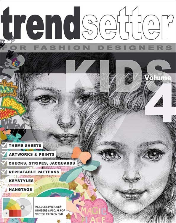 Trendsetter Kids Graphic Collection Vol.4 incl. DVD
