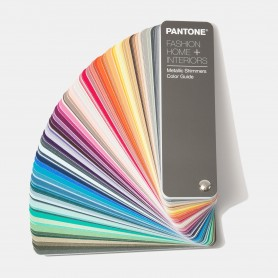 Pantone Metallic Shimmers Color Specifier FHIP410N Book