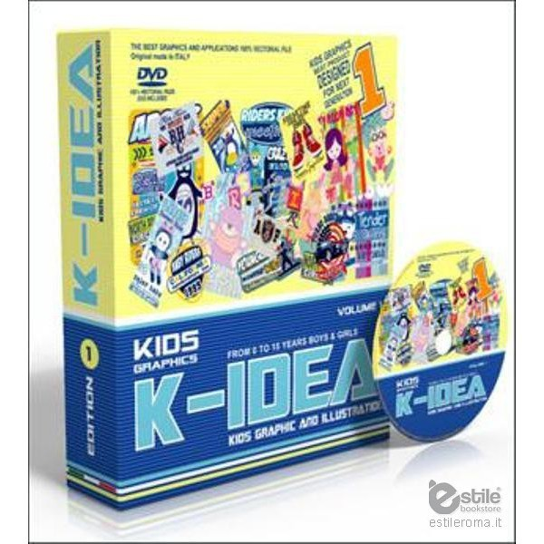 K-Idea Kids Graphic and Illustration Vol. 1