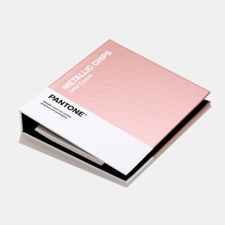 Pantone Metallics Coated Chips Book