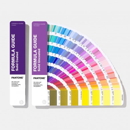 Pantone Formula Guide Solid Coated & Uncoated GP1601A Book [2020 Edition] - 1