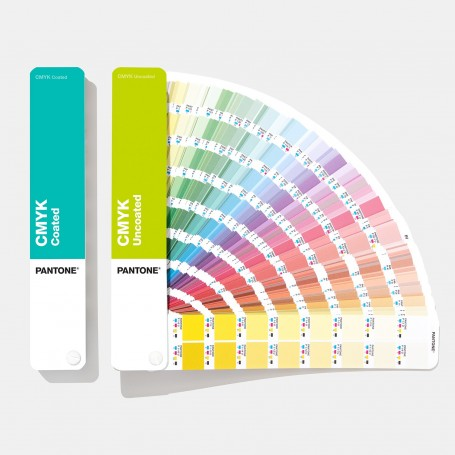 Pantone CMYK Coated and Uncoated Color Guide GP5101 (Plus Series) - 2