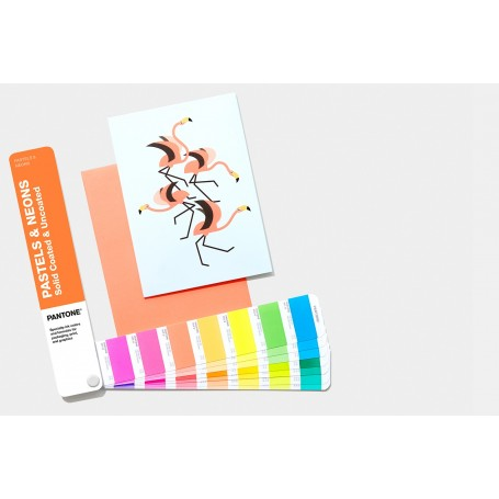 Pantone Pastels and Neon Color Chart