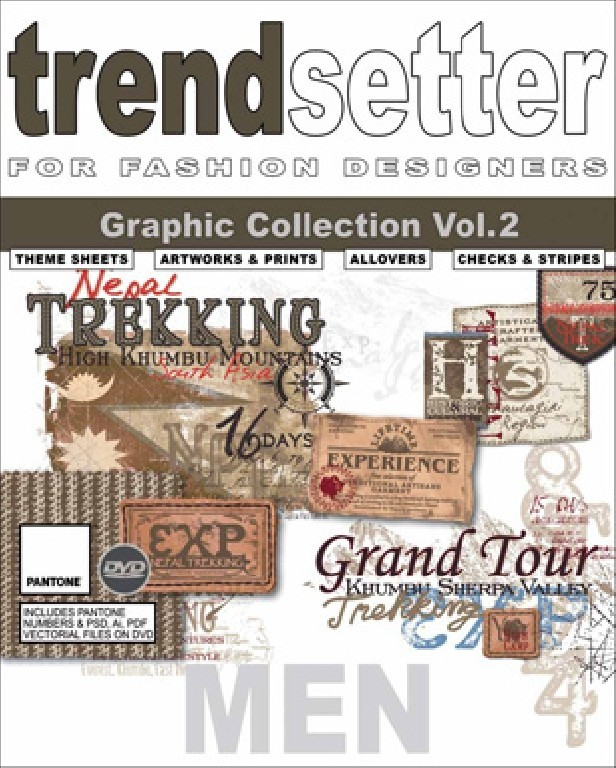 Trendsetter - Men Graphic Collection Vol.2 incl. DVD