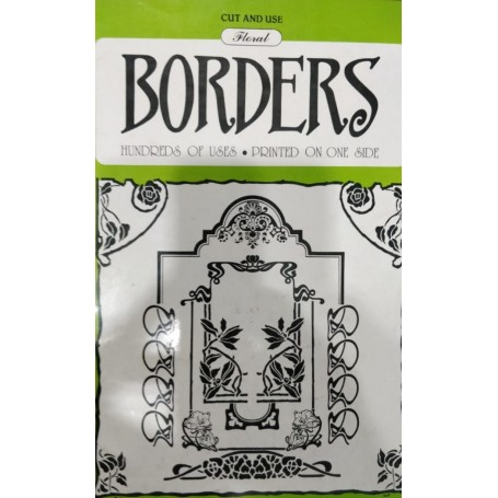 Floral Borders Book - 1