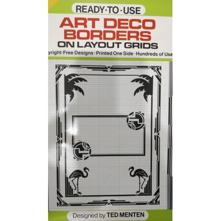 Ready to Use Art Deco Borders Book - 1