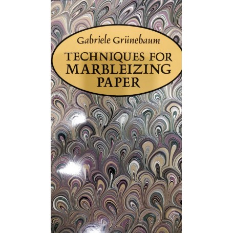 Techniques for Marbleizing Paper Book by Gabriele Grunebaum - 1
