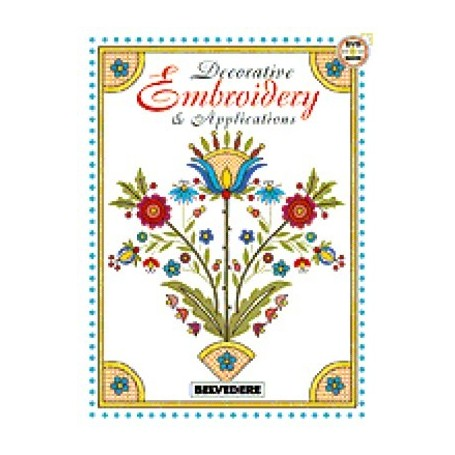 DECORATIVE EMBROIDERY DESIGN BOOK VOL.2 - 1