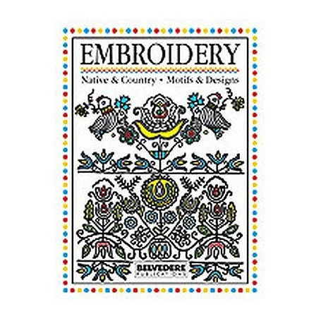 NATIVE EMBROIDERY DESIGN BOOK VOL.1 - 1