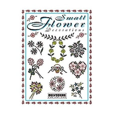 SMALL FLOWER DECORATIONS BOOK VOL.4 - 1