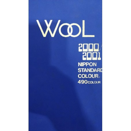 WOOL 2000-2001NIPPON STANDARD 490 COLOUR BOOK - 1