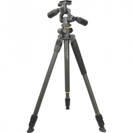 Vanguard Alta Pro 2+ 263AP | Aluminum Tripod with 3-Way Video Pan Head | Overhead Shooting,VAAPRO2263AP