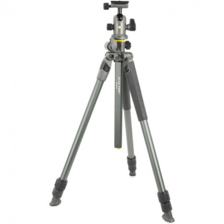 Vanguard Alta Pro 2+ 263AB100 | Aluminum Tripod with Ball Head | Overhead Shooting | Rated at 22lbs/10kg, VAAP2263AB10