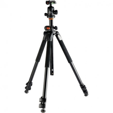 Vanguard Alta Pro 263AB 100 Aluminum Tripod with Magnesium Alloy Ball Head - Rated at 15.4lbs/7kg - 1