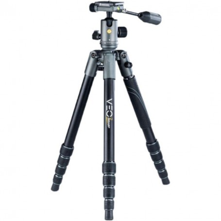 Vanguard Veo 2X 265ABP Aluminum Travel Tripod - Rated at 26.5lbs, VAVEO2X265AB