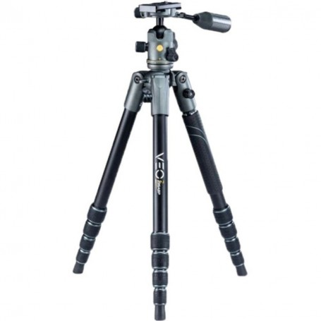 Vanguard Veo 2X 235ABP Aluminum Travel Tripod - Rated at 13.5lbs, VAVEO2X235AB