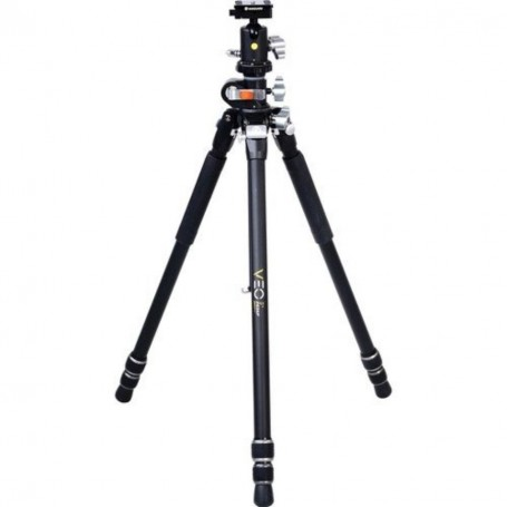 Vanguard Veo 3+ 263AB | Professional0 Aluminum Tripod with Ball Head | Overhead Shooting, VAVEO3P263AB
