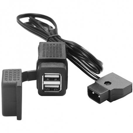 Tether Tools D-Tap to USB Power Converter (3.3') CRDTAP