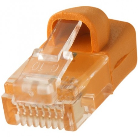 Tether Tools TetherPro Cat6 550 MHz Network Cable (30ft, Hi-Visibility Orange) CAT30-ORG