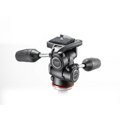 Manfrotto 3 Way Tripod Head Mark II in Adapto with retractable levers MH804-3W