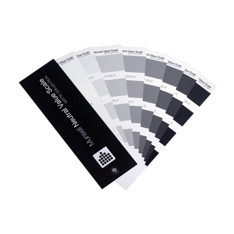 Munsell Neutral Value Scale – Glossy Finish Edition Buy Now in India M50130