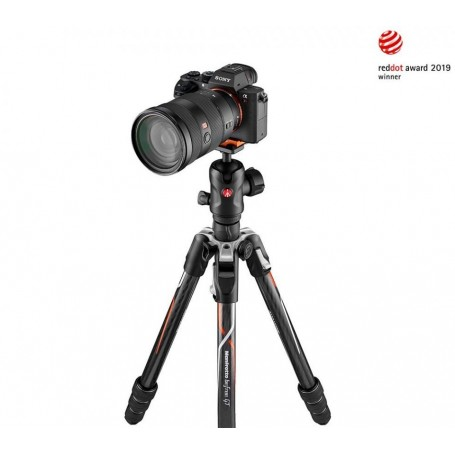 Manfrotto Befree GT Carbon Fibre Designed for α Cameras from Sony MKBFRTC4GTA-BH