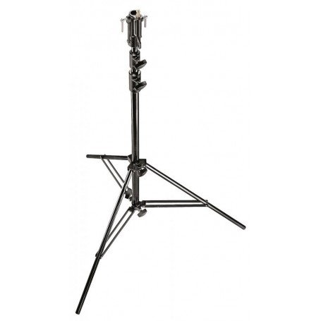 Manfrotto Aluminum Senior Stand with Leveling Leg Black 10.3 Inches, 007BU