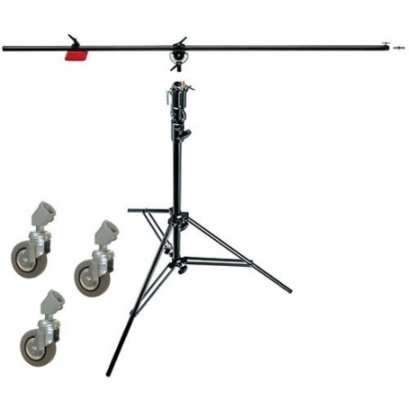 Manfrotto Heavy-Duty Boom and Stand Black, 085BS
