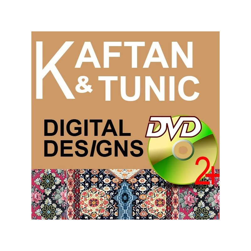 Kaftan & Tunic Digital Designs with DVD